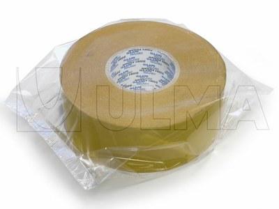 Taśma samoprzylepna w rolce pakowana na poziomej maszynie pakującej (HFFS).