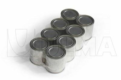 Farba i lakier w puszce pakowane w polietylen o niskiej gęstości (LDPE).