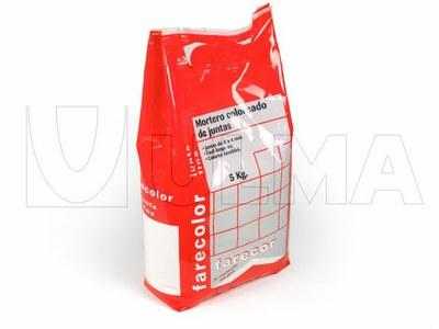 Zaprawa murarska pakowana w folię laminowaną na pionowej maszynie pakującej (VFFS).