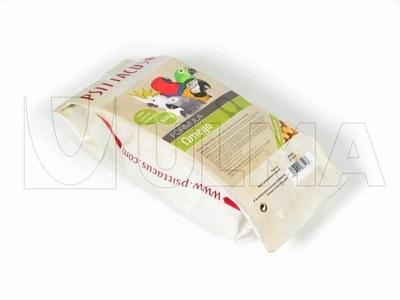 Nasiona dla ptaków pakowane w opakowanie o płaskim dnie ze zgrzewem bocznym na poziomej maszynie pakującej (VFFS).